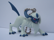 Absol Special Keychain (アブソル マスコット ホルダー)