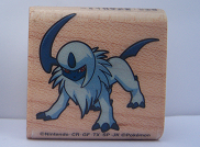 Absol Wooden Stamp (アブソル スタンプ)